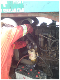 timing belt genset