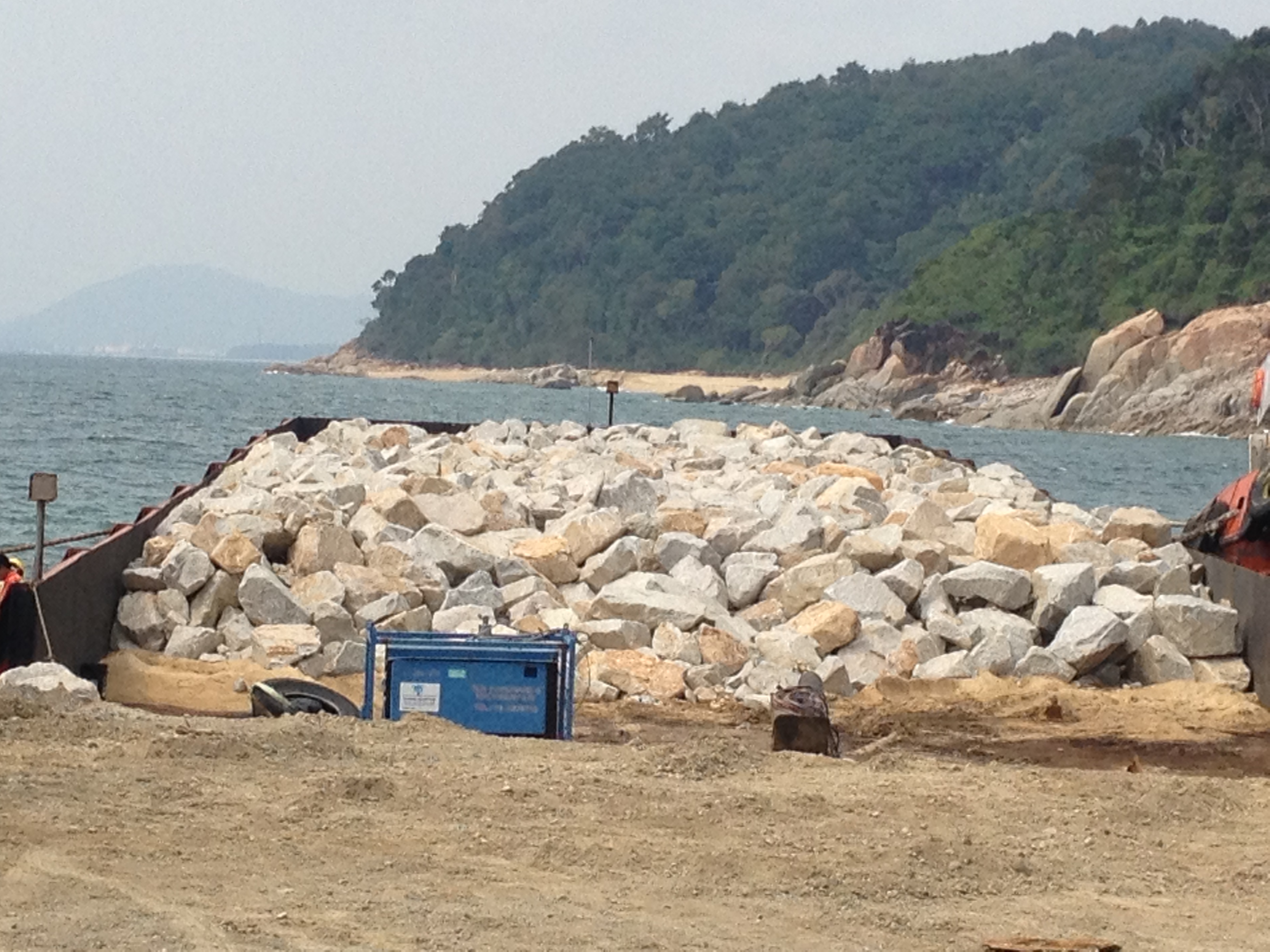 Land reclamation services malaysia sand armored rock for Soil reclamation